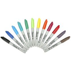Sharpie Fine Point Permanent Marker 12-pc Set