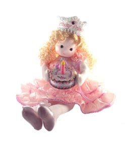 Birthday Princess Collectible Musical Doll