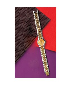 American Coin Treasures St. Gaudens $20 Gold Piece Replica Women's Watch