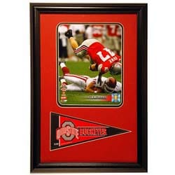 A.J. Hawk Mini Pennant 12x18 Sports Plaque
