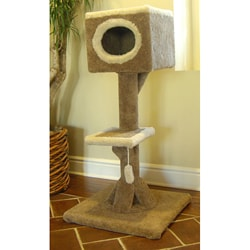 48-inch Kitty Cat Watch Tower Cat House