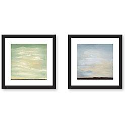 Leslie Saris 'Perspective' 2-piece Framed Art Set
