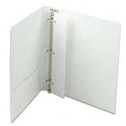 Samsill Top Performance 1-inch DXL Insertable Angle-D Binder