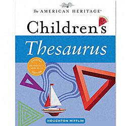American Heritage Childrens Thesaurus