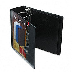 ClearVue Premium 4-inch Slant-D Three-Ring Presentation Binder