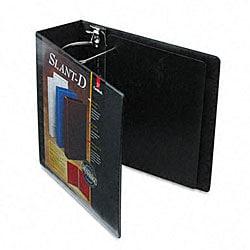 ClearVue Premium 4-inch Slant-D Three-Ring Presentation Binder