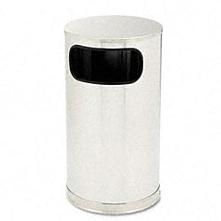 Designer Line 12-gallon Waste Receptacle with Side Opening