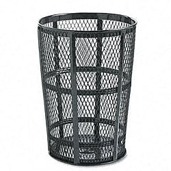 Steel Street Basket 48-gallon Outdoor Waste Receptacle