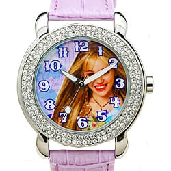 Disney Rhinestone Hannah Montana Girls' Watch