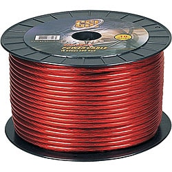 GSI GPC10R250 10-gauge Red Power Ground Cable