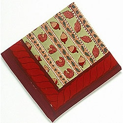 Noix Red/ Green Napkins (Set of 6)