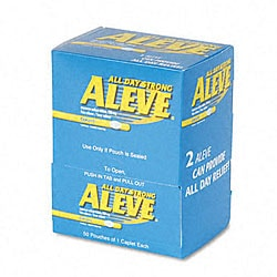 Package of 50 Aleve Tablets