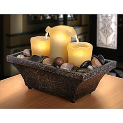 Sarah Peyton LED Candle Water Fountain (Pack of 4)