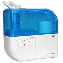 Dual Mist Humidifier with ION Exchanger Filter