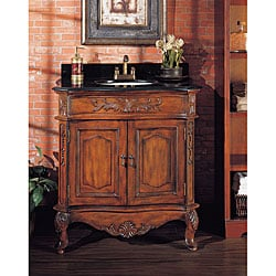Antique Franciscan-inspired Classical Vanity w/ Faucet