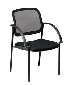 Office Star Screen Back Mesh Guest Chair 3599968