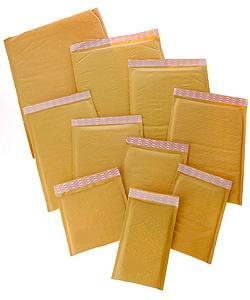 Self Seal #CD 7.5x7.5-inch Bubble Mailers (Case of 250)