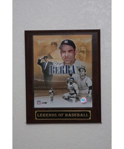 Yogi Berra Collectible Plaque