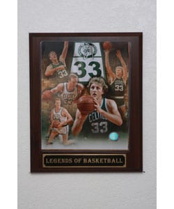 Larry Bird Collectible Plaque