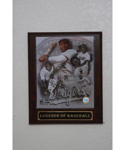 Jackie Robinson Collectible Plaque