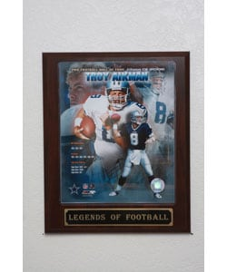 Troy Aikman Collectible Plaque