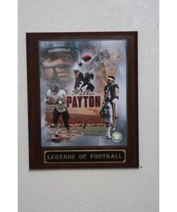 Walter Payton Plaque