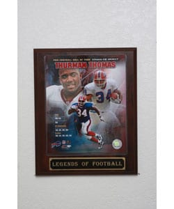 Thurman Thomas Collectible Plaque
