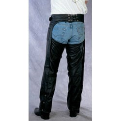 Men's Motorcycle Leather Chaps