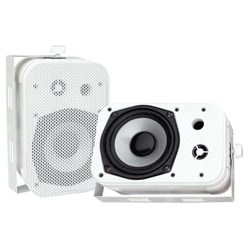 PylePro 5.25-inch White Waterproof Speakers