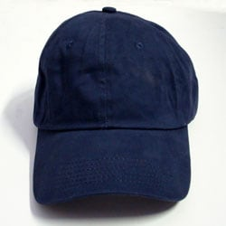 Navy Blue Adjustable Baseball Cap