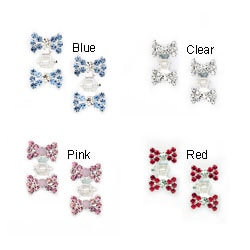 Tiny Bow Hair Clips (Set of 2)