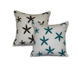 'Sea Star' Starfish Towel-stitch Pillow