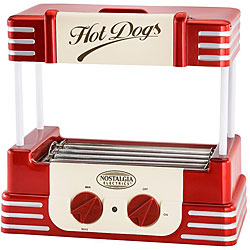 Nostalgia Electrics Retro Series Hot Dog Roller 3846921
