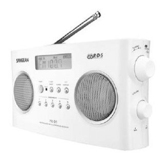 Sangean PR-D5 Digital Tuning Portable Stereo Radio