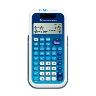Texas Instruments MultiView TI-34 EZ Spot Teacher Kit