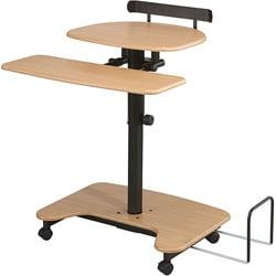 Balt Sit or Stand Mobile Workstation Desk 3860053