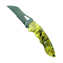 Camouflage Pocket Knives with Clip (Set of 4)