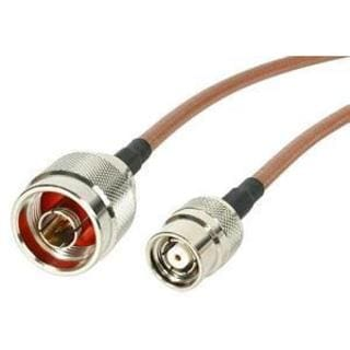StarTech.com 1 ft N Male to RP-TNC Wireless Antenna Adapter Cable - M
