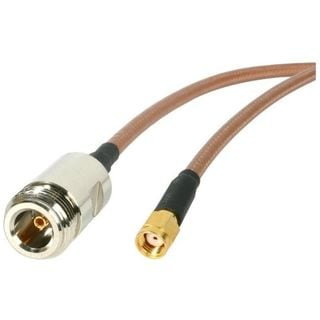 StarTech.com 1 ft N-Female to RP-SMA Wireless Antenna Adapter Cable