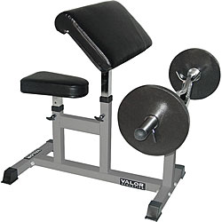 Valor Fitness Arm Curl Bench