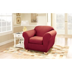 Sure Fit Stretch Suede Chair Slipcover (As Is Item)