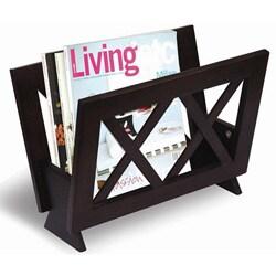 X-design Wood Magazine Rack