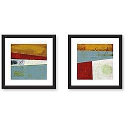 Benjamin Deal 'Semblance' Framed Art Print Set