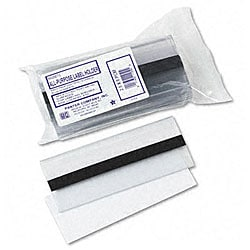Clear Magnetic Plastic Label Holders (Pack of 10)