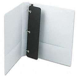 ClearVue XtraValue 1-inch D-Ring White Presentation Binder