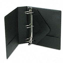 Basic 2-inch Vinyl D-Ring Binder with Label Holder