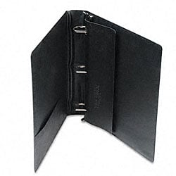 Samsill Top Performance 1.5-inch DXL Angle-D Black Binder