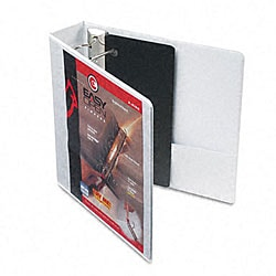 Recycled ClearVue 2-inch EasyOpen D-Ring Presentation Binder