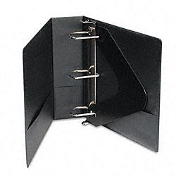 Basic Vinyl 3-inch D-Ring Black Binder