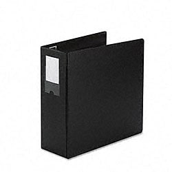Locking No-Gap 4-inch D-Ring Vinyl Binder